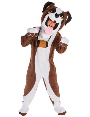 Deluxe Bernhardiner Kostüm für Erwachsene