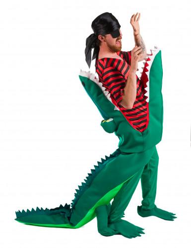 Piratenfressendes Krokodil Kostüm