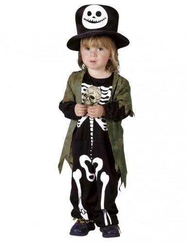 Skelett-Kostüm für Kinder für Halloween