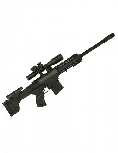Maschinengewehr für Kinder mit Sound schwarz