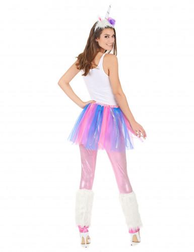 Buntes Einhorn-Kostüm für Erwachsene-2