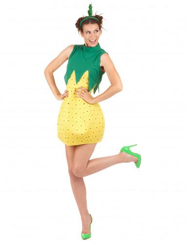 Ananas-Kostüm für Damen