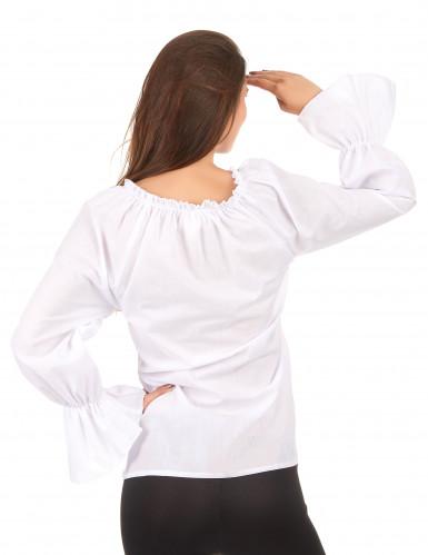 Weiße Bluse für Damen-1