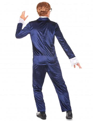 Kostüm durchgeknallter Spion blau-2