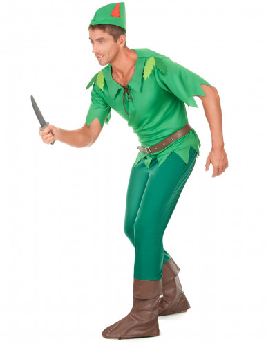 Grünes Waldmann-Kostüm für Herren-1