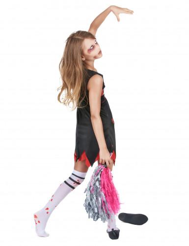 Zombie Cheerleader Kostüm für Mädchen-2