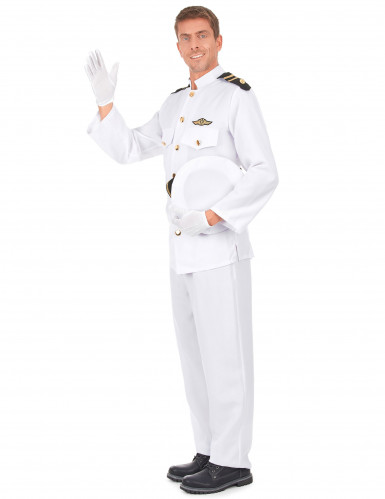 Marineoffizier Kostüm für Herren-1