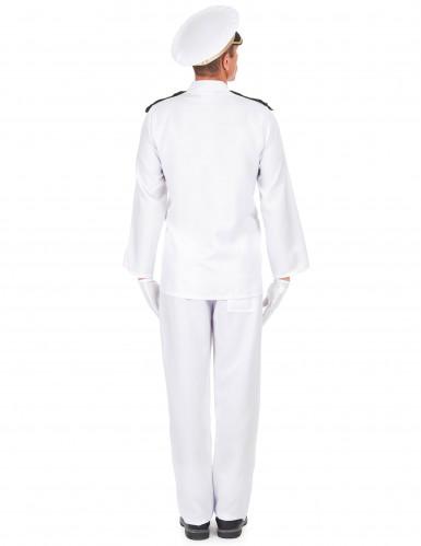 Marineoffizier Kostüm für Herren-2