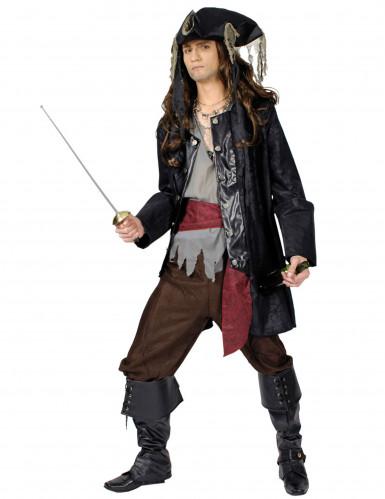 Piraten-Kapitänskostüm für Herren