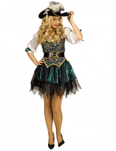 Deluxe Piraten-Kostüm für Damen