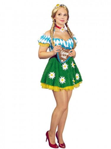 Bayerin Oktoberfest Kostüm für Damen