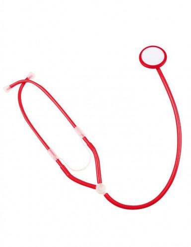 Stethoskop in Rot für Erwachsene-1