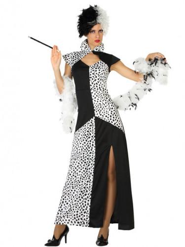 Kostüm Kleid Dalamtiner für Damen