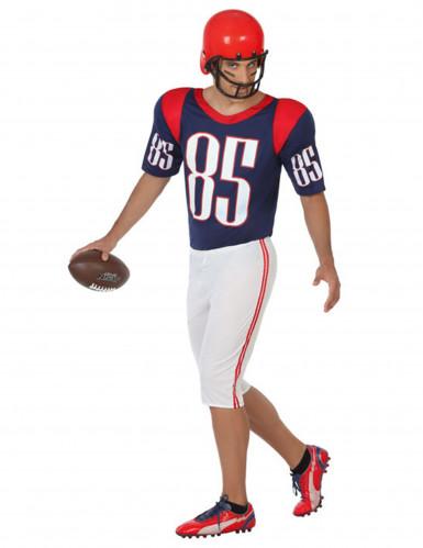 American Football Spieler Herrenkostüm