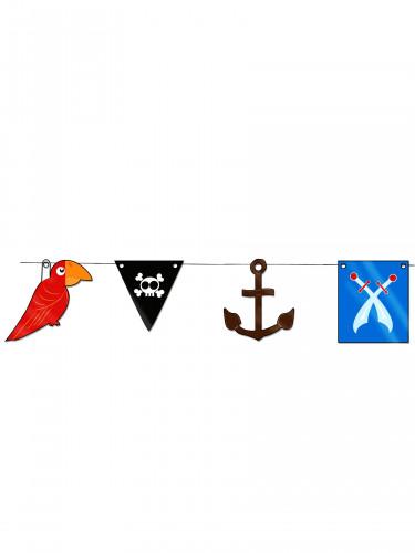 Girlande mit Piraten-Motiven