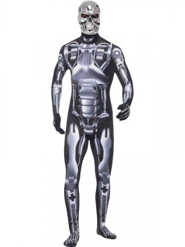 T-800 Terminator™ Cyborg Kostüm für Erwachsene