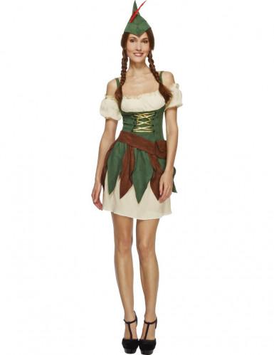 Sexy Waldfrauen Kostüm für Damen