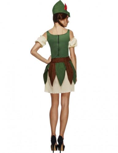 Sexy Waldfrauen Kostüm für Damen-1