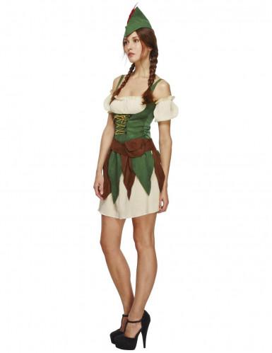 Sexy Waldfrauen Kostüm für Damen-2