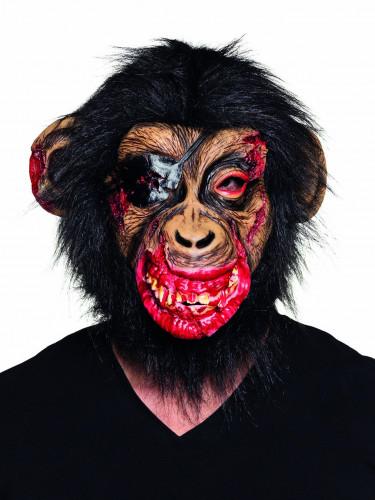 blutige Affenmaske für Erwachsene