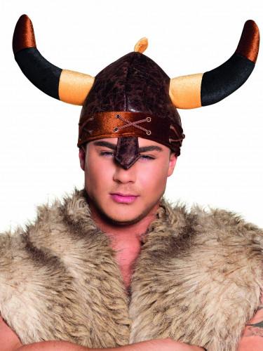 Wikinger-Helm mit Riesenhörnern