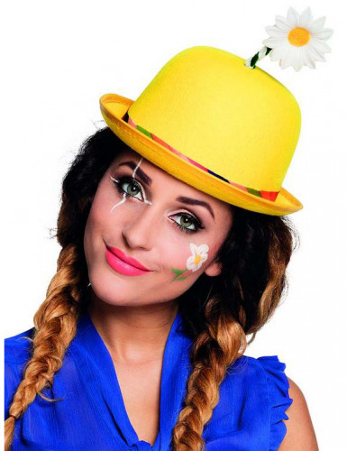 Clown-Hut gelb Erwachsene