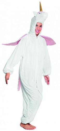 Einhorn-Kostüm aus Plüsch für Teenies