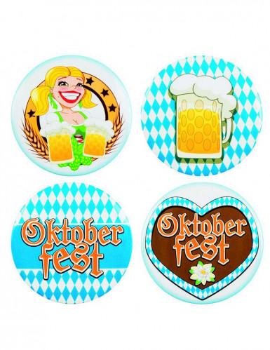 4 Oktoberfest-Buttons