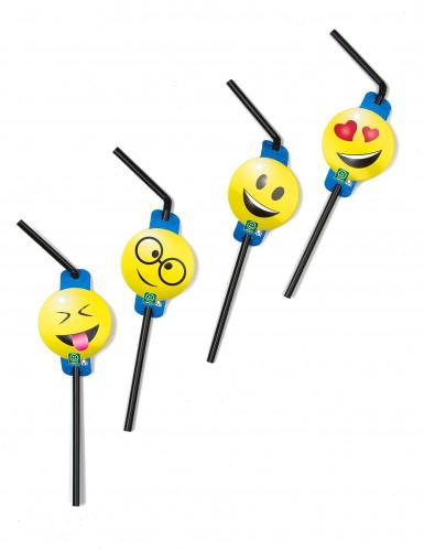 8 Strohhalme Emoticons Imoji™