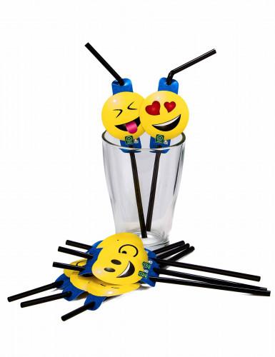 8 Strohhalme Emoticons Imoji™-1