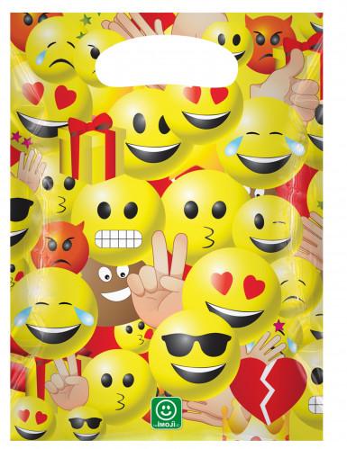6 Imoji™ Plastiktüten Größe 17 x 23 cm