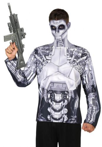 Roboter Longsleeve für Herren