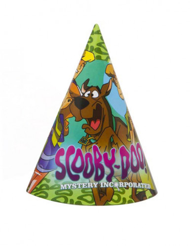 4 Scooby Doo ™ Partyhüte