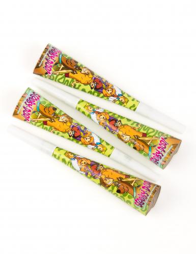 4 Partytrompetten 20 cm Scooby-Doo™
