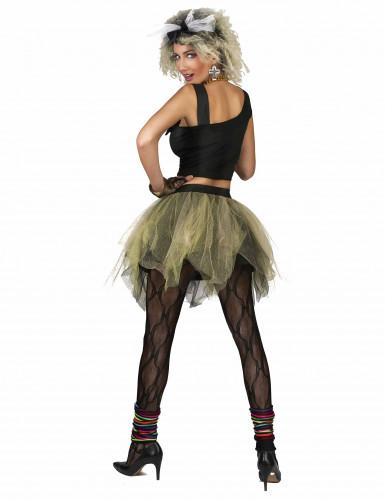 80er Disco Popstar Kostüm für Damen -1