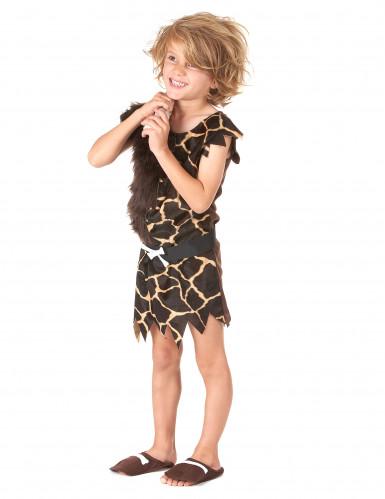 Kostüm Höhlenmensch für Kinder-1