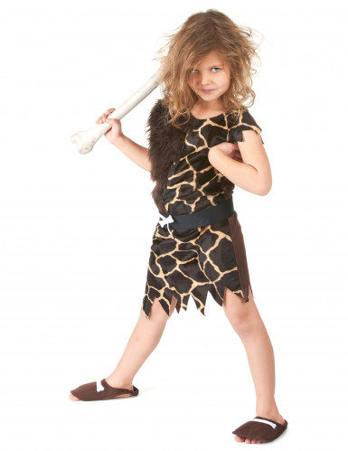 Kostüm Höhlenmensch für Kinder-3