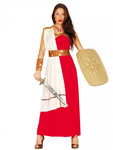 Spartanische Kriegerin Kostüm für Damen