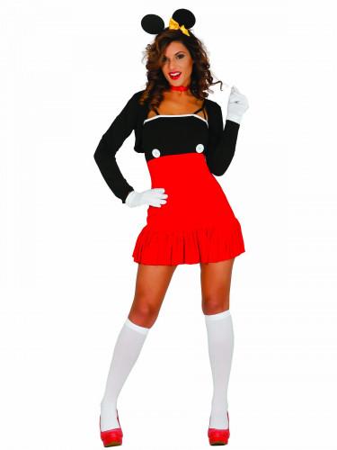 Sexy Maus-Kostüm für Damen