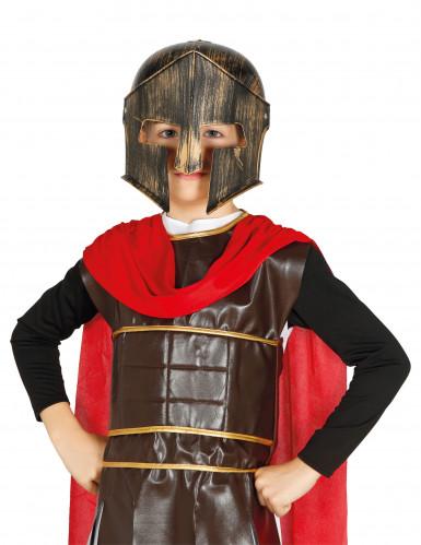 Gladiatoren-Helm für Kinder braun-kupferfarben