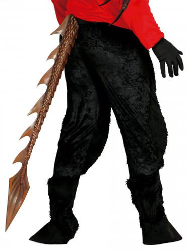 Halloween Dämon-Schwanz 1 m