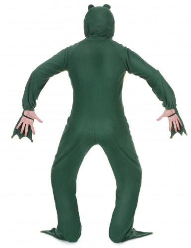 Lustiges Frosch Herrenkostüm grün-2