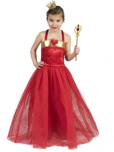 Kostüm Prinzessin mit Herz für Mädchen