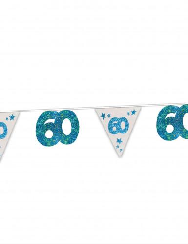 Wimpelgirlande 60.Geburtstag