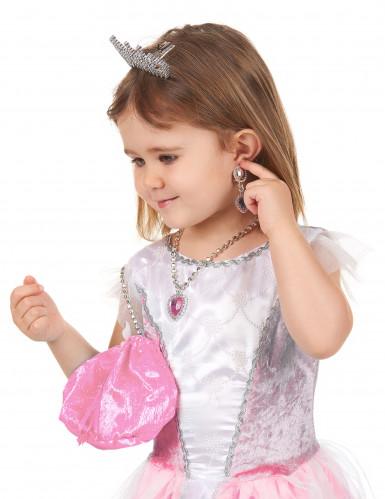Accessoires Set rosa für Prinzessin -2
