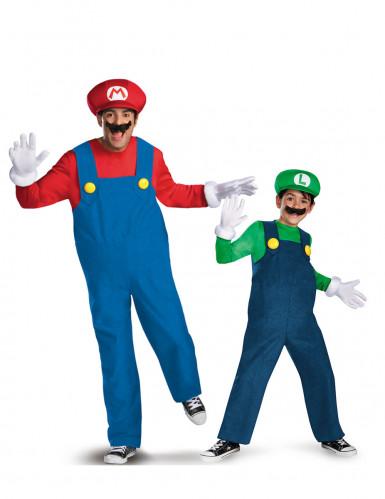 Paarkostüm Mario™ und Luigi™ Vater und Sohn