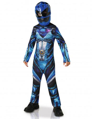 Blaues Power Rangers™ Kostüm für Kinder