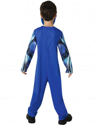 Blaues Power Rangers™ Kostüm für Kinder-2