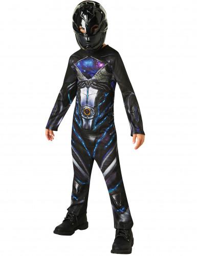 Schwarzes Power Rangers™ Kostüm für Kinder-1