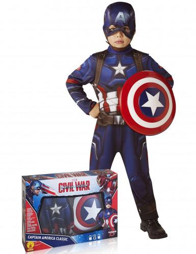 Captain America™ Kostüm für Kinder